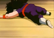 Kid gohan fells to ground g dead2