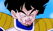 Gohan hrut and looking tired out