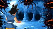 Gt kid goku fights spiders 2