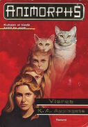 Animorphs 2 the visitor Vieras Finnish cover