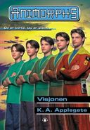Animorphs 41 the familiar Visjonen Norwegian cover
