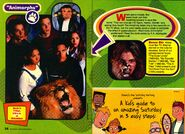 Disney adventures october 1998 animorphs tv show