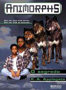Animorphs 9 the secret O segredo brazilian cover Rocco