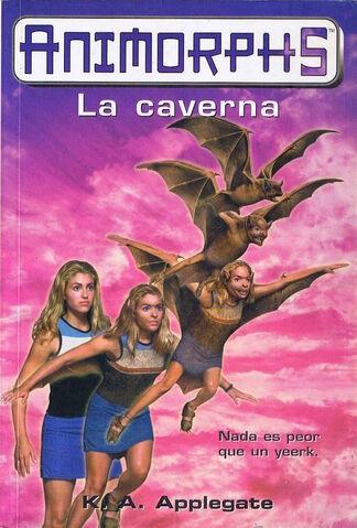 File:Animorphs 17 the underground la caverna spanish cover ediciones B.jpg