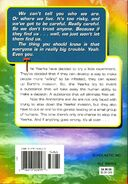 Animorphs 28 experiment back cover