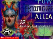 Animorphs alliance poster ax close up