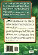Animorphs book 7 the stranger back cover