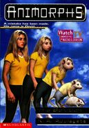 Animorphs 22 the solution front cover with watch tv logo