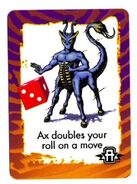 Animorphs ax invasion game card hasbro