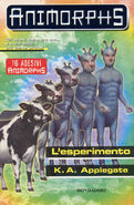 Animorphs 28 the experiment L esperimento italian cover