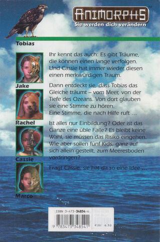 File:Animorphs 4 the message Die Botschaft german back cover.jpg