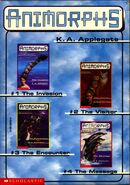 Animorphs boxed set 1-4 cover side
