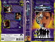 Animorphs vhs 1.1 swedish front and back