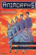 Animorphs 8 the alien Muukalainen Finnish cover