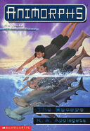 Animorphs 15 the escape front cover scan