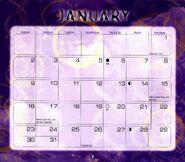 2 2000 calendar January month