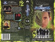 Animorphs VHS 1.5 Australian volume front back spine the leader the forgotten