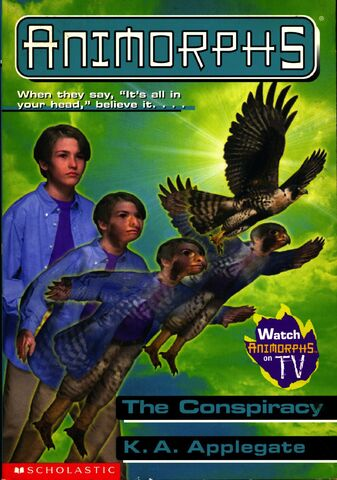 File:Animorphs 31 the conspiracy scholastic edition front cover.jpg