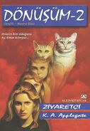 Animorphs 2 the visitor Donusum Ziyaretci turkish cover