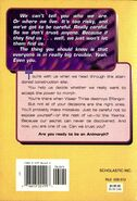 Animorphs Alternamorphs 1 The First Journey back cover