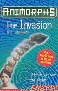 Animorphs 1 the invasion UK cover