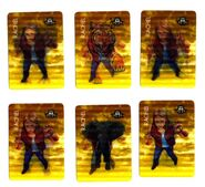 All 6 Rachel morph cards