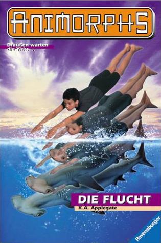 File:Animorphs 15 the escape die flucht german cover.jpg