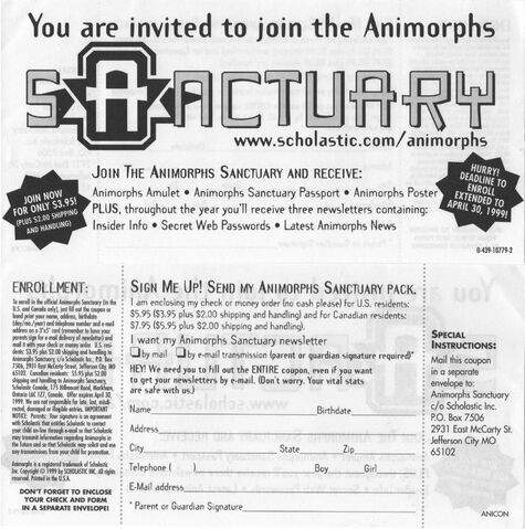 File:Invited to join animorphs sanctuary ad front and back.jpg