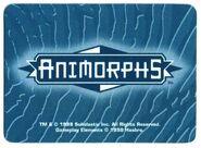 Animorphs the invasion game morph card back