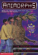 Animorphs 34 the prophecy front cover high res