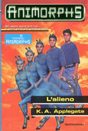 Animorphs 8 the alien L alieno italian cover