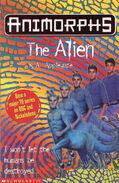 Animorphs 08 the alien UK cover 1999 edition