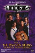 Animorphs TV retailer invasion series poster