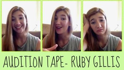 Green Gables Fables Audition - Abigail Snarr as Ruby Gillis