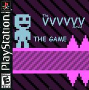 VVVVVV Movie Game Boxart (PS1)