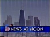 WMAQ-TV's The Channel 5 News At Noon Video Open - Late 1986