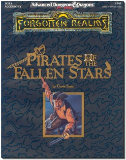 Pirates of the fallen stars book cover