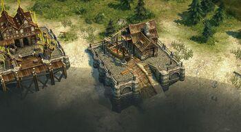 Small shipyard