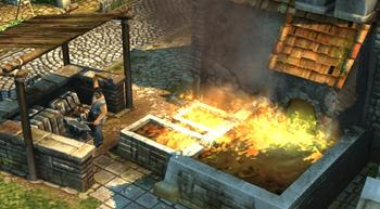 Iron smelter