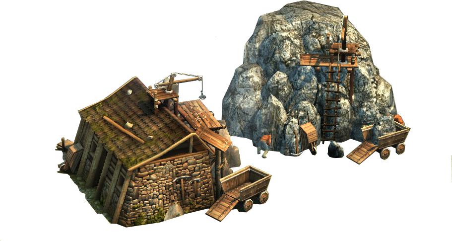 Stone masons hut
