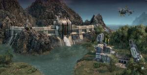 Eco-hydro-dam