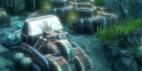 Underwater Recycling Station