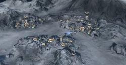 Novikov Crater sector project