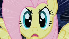 File:280px-MLP FIM - Fluttershy Stare.png