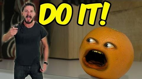 Annoying Orange - Shia LaBeouf Motivates the Kitchen