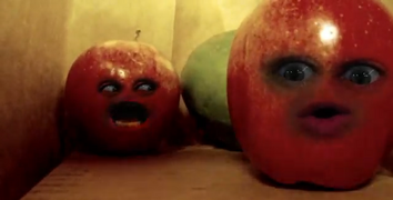 Apples in First Person Fruiter