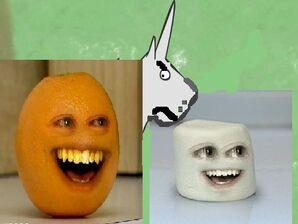 Annoying Orange Meets Charlie Teh Unicron