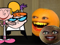 Annoying Orange Dexter's Laboratory