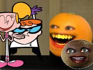 Annoying Orange Dexter's Laboratory