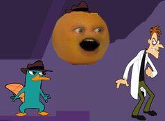 Secret agent Orange!